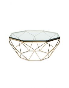 Dia Coffee Table / Gold