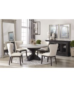Mary Dining Table / Black Pine