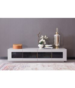 Madeos TV Stand / Light Grey