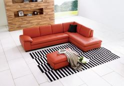 Sorrento Sectional / Pumpkin
