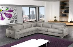 Movado Leather Sectional
