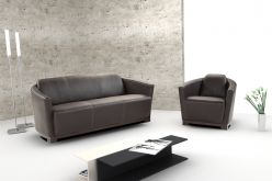 Medusa Leather Sofa