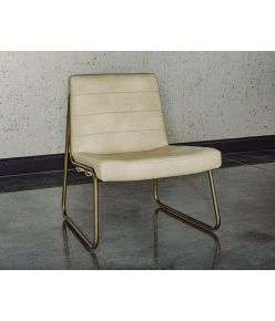 Warsaw Lounge Chair / Creame