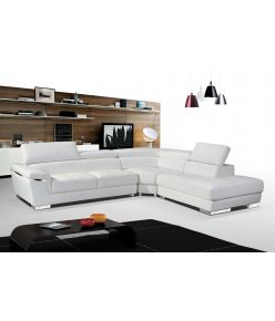 Sabina Leather Sectional