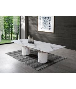 Bellagio Dining Table / White