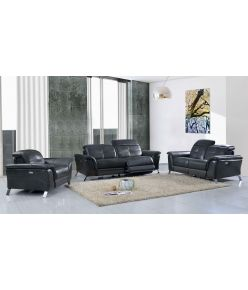 Daisy Recliner Leather Sofa