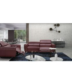 Milan Recliner Sofa / Wine
