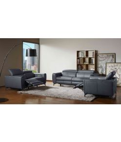 Milan Recliner Sofa / Blue