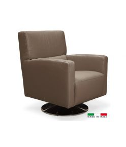 Ithaca Swivel Chair / Brown