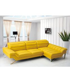 Fiorenza Leather Sectional