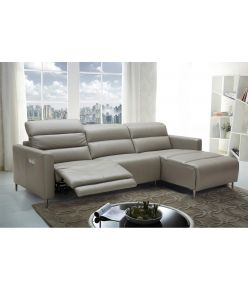 Dania Recliner Leather Sectional