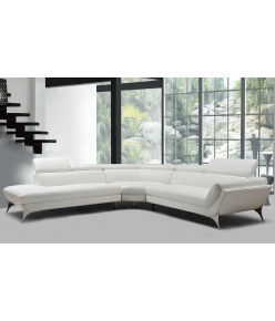 Mila Leather Sectional