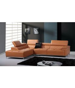 Argenta Leather Sectional