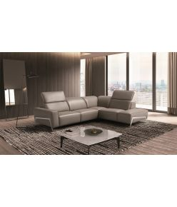 Renzo Recliner Leather Sectional