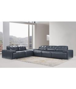 Candice Leather Sectional