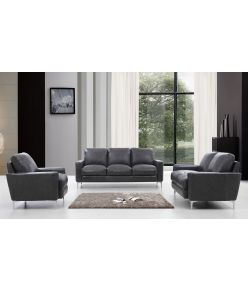 Elton Leather Sofa Set