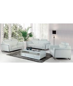 Romeo Leather Sofa Set