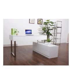 Lorenzo Desk / White