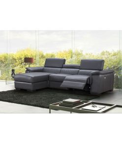 Baldo Recliner Leather Sectional