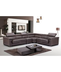 Trevi Leather Sectional