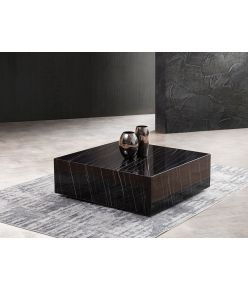 Cave Marble Table / Black