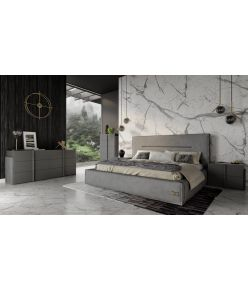 Philo Leather Bed