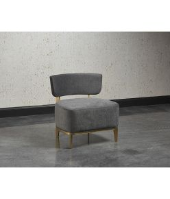 Sibylle Lounge Chair / Grey