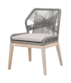 Loom Dining Chair / Platinum