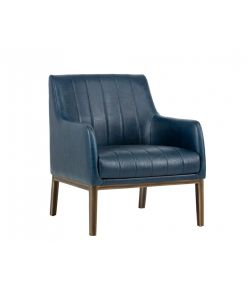 Pistoia Lounge Chair / Blue