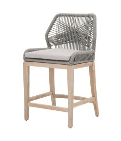 Loom Counter stool / Platinum