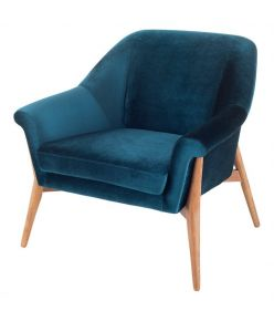 Charlize Chair / Midnight Blue