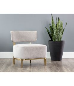 Sibylle Lounge Chair / Stone