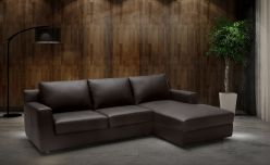 Dante Sectional Sleeper / Brown