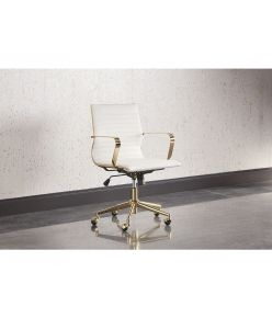 Linz Office Chair / White