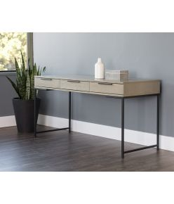 Titan Desk / Black & Taupe