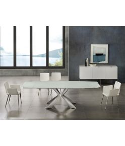Egeo Motorized Table / White
