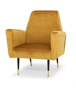 Victor Occasional Chair / Mustard