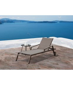 Kiara Outdoor Chaise / Taupe