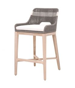Tapestry Outdoor Barstool / Dove