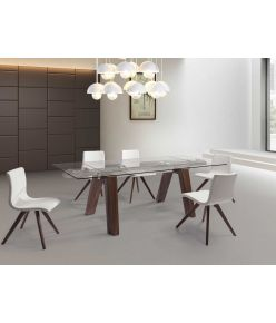 Villa Extendable Table / Walnut
