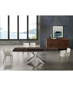 Egeo Extendable Table / Smoked