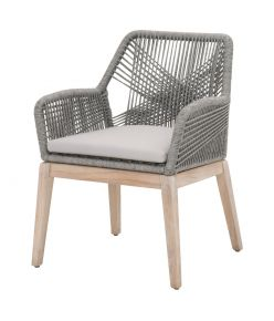 Loom Arm Chair / Platinum
