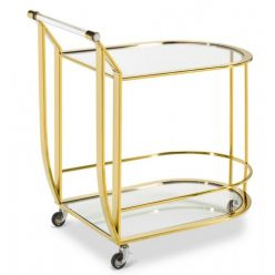 Laura Bar Cart Gold