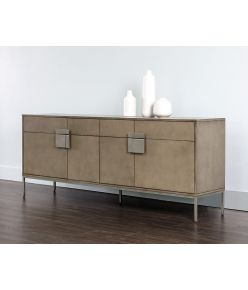 Medora Buffet / Ash Grey