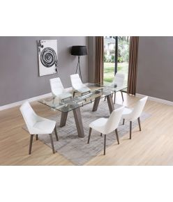 Villa Extendable Table / Gray