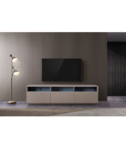 Vesta TV Stand / Grey Oak