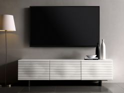 Moon TV Unit / White