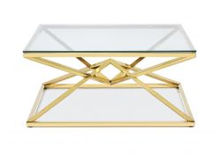 Chandler Coffee Table / Gold
