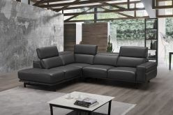 Isabel Sectional / Dark Grey
