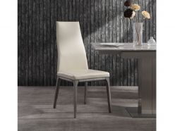 Ricky Dining Chair / Gray Oak - Taupe